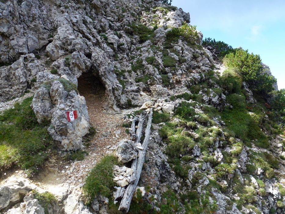 Maximilian Klettersteig : Klettersteig tiers bärenfalle hammerwand tschafonhütte