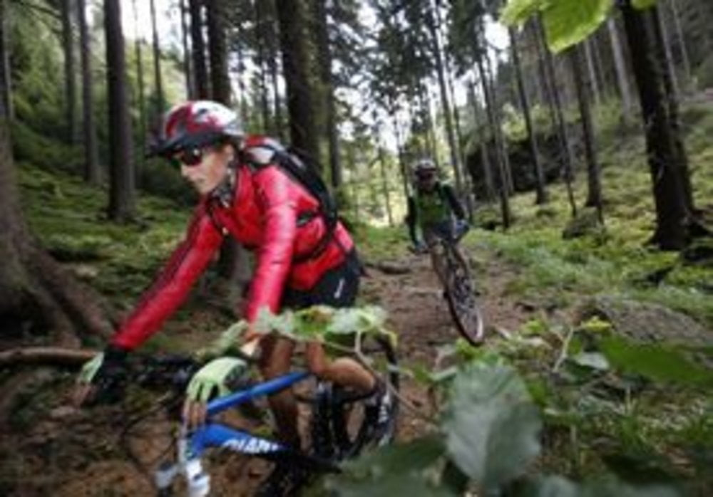 mountainbike rennsteig radweg tour 95805. Black Bedroom Furniture Sets. Home Design Ideas
