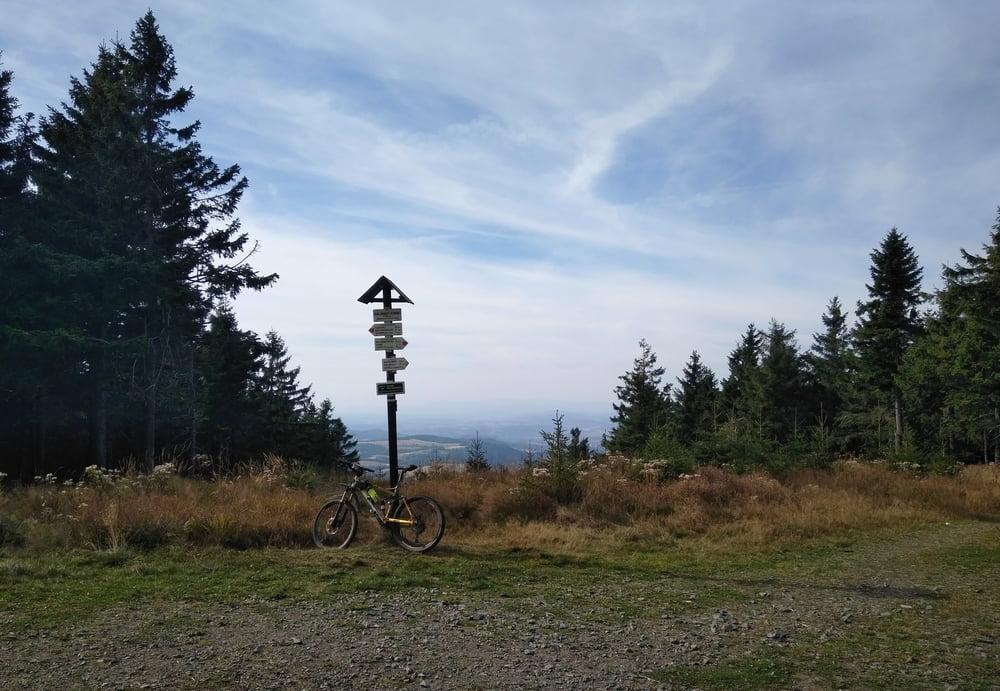 Mountainbike: Orlické h.: Deštné -Pěticestí -Koruna -Vrchmezí ...