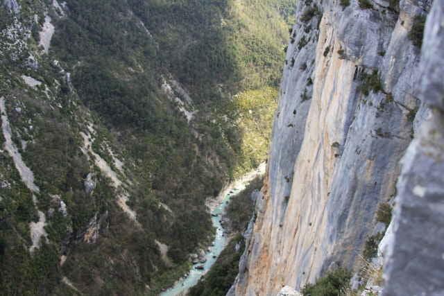 Klettersteig Verdon : Wandern gorges du verdon tour