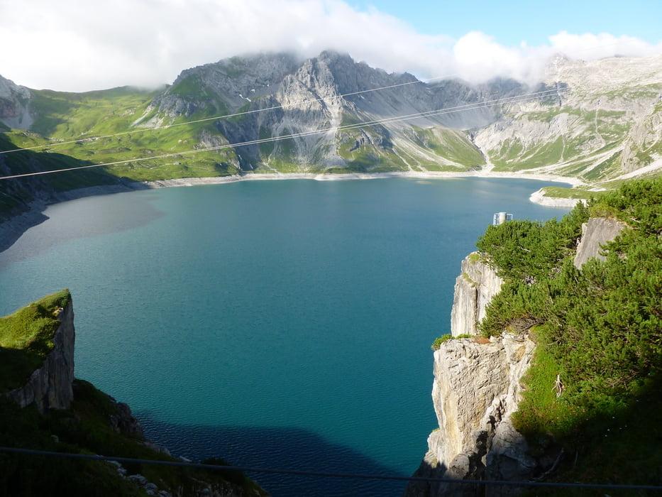 Klettersteig Saulakopf : Klettersteig saulakopf rätikon tour