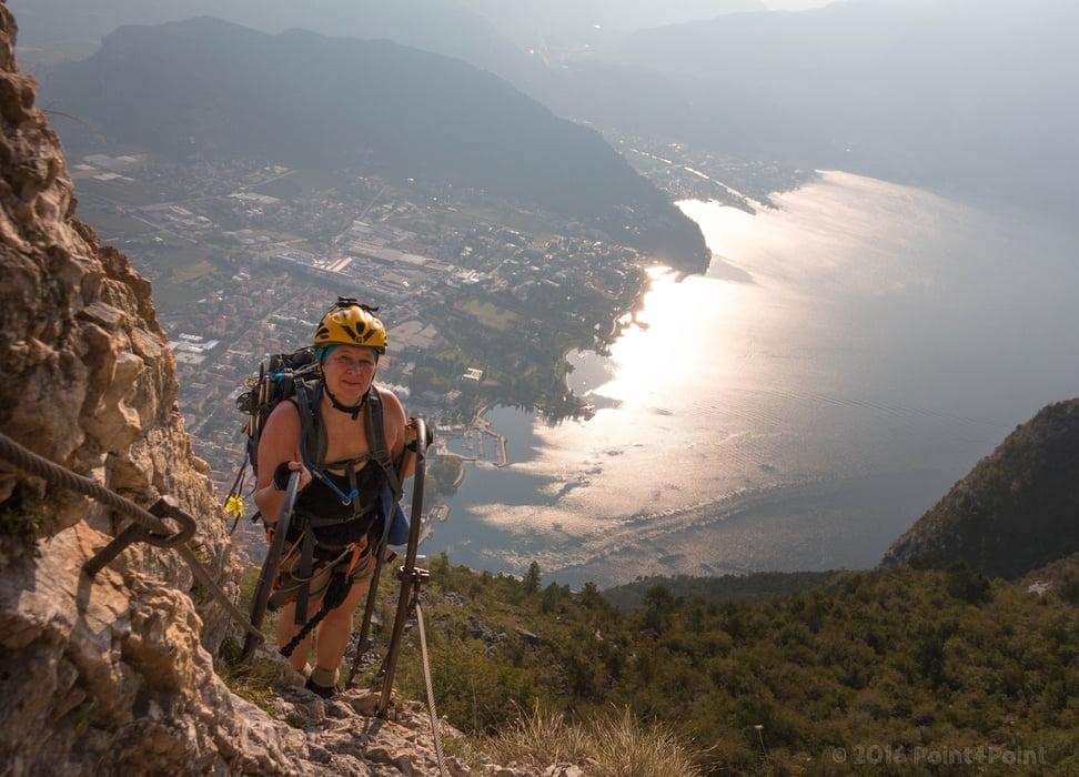 Klettersteig Riva Del Garda : Klettersteig gehen am gardasee klettersteige für genießer