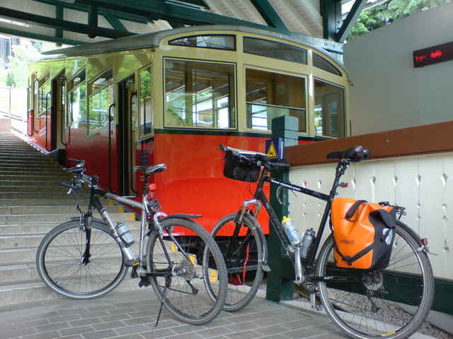 Fahrrad Touring: von Erfurt nach Sonneberg durch den