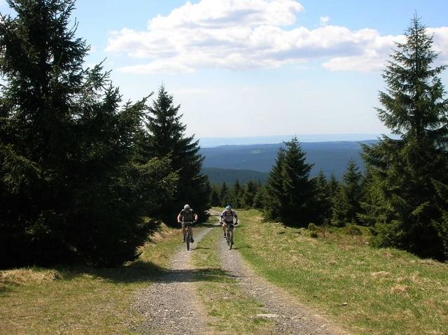 mountainbike harz bad harzburg okerstausee torfhaus wolfswarte eckertalsperre tour. Black Bedroom Furniture Sets. Home Design Ideas
