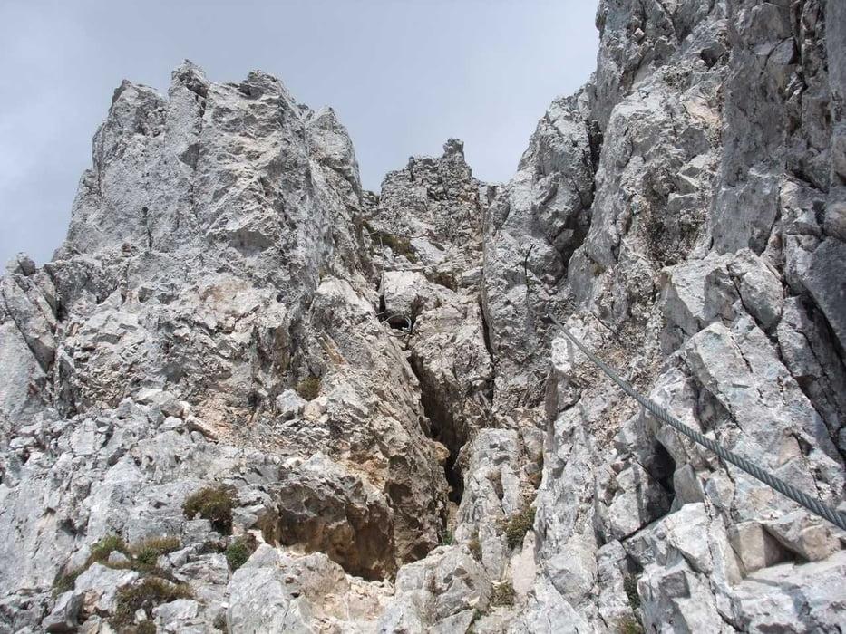 Friedberger Klettersteig : Klettersteig: rote flüh und friedberger klettersteig tour 48230