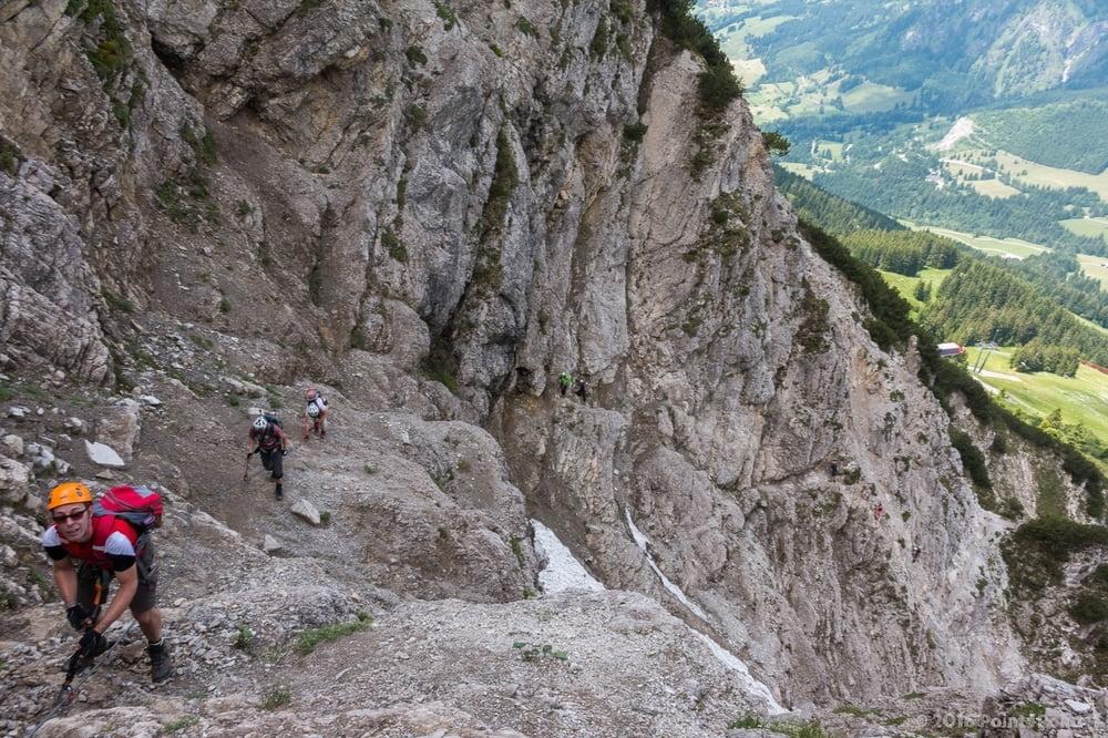 Klettersteig Iseler : Iseler bad hindelang in deutschland bayern alpen guide