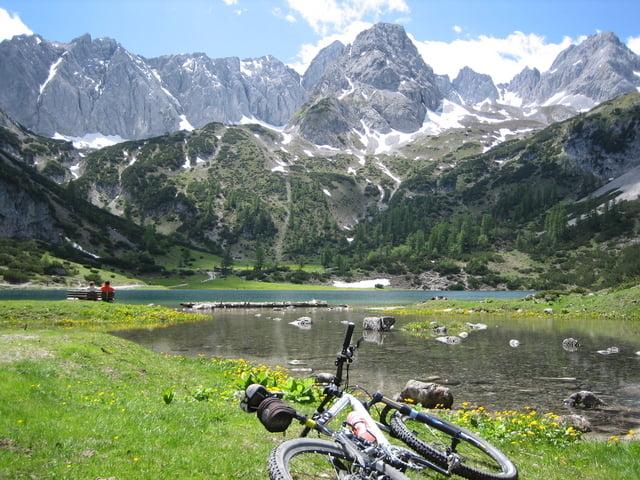 mountainbike ehrwalder alm seebensee tour 37634. Black Bedroom Furniture Sets. Home Design Ideas