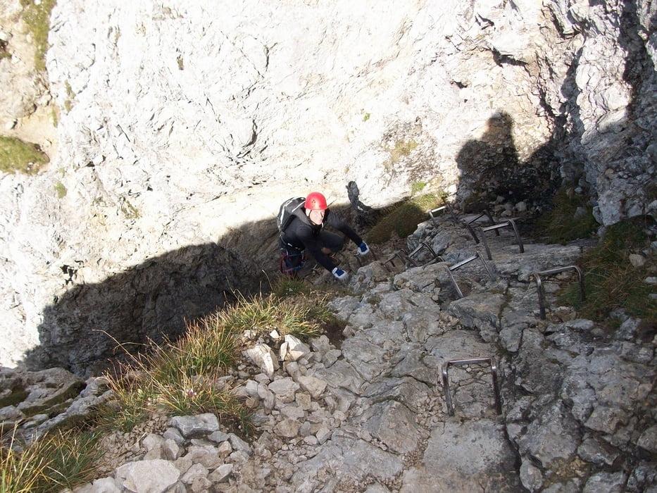 Friedberger Klettersteig : Klettersteig: friedberger klettersteig runde tour 66697