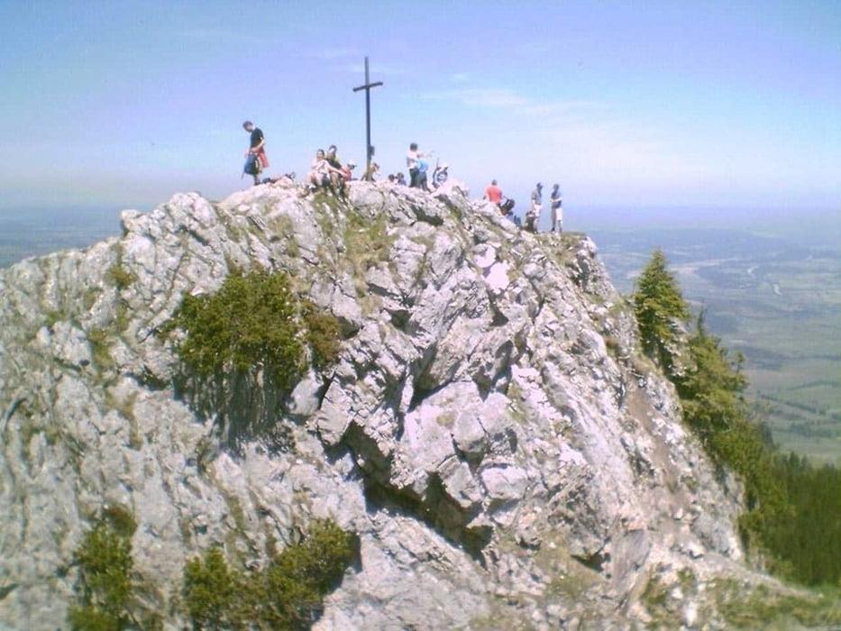 Klettersteig Am Ettaler Mandl : Mountainbike ettaler mandl bike hike trail tour