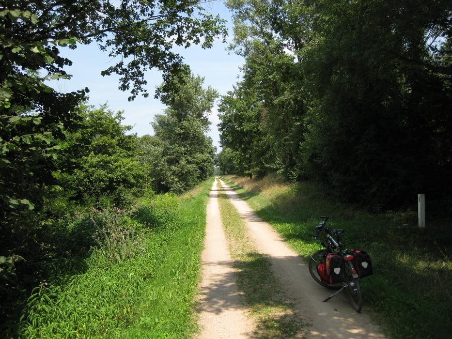 Fahrrad Touring: Rheinradweg von Konstanz bis Düsseldorf